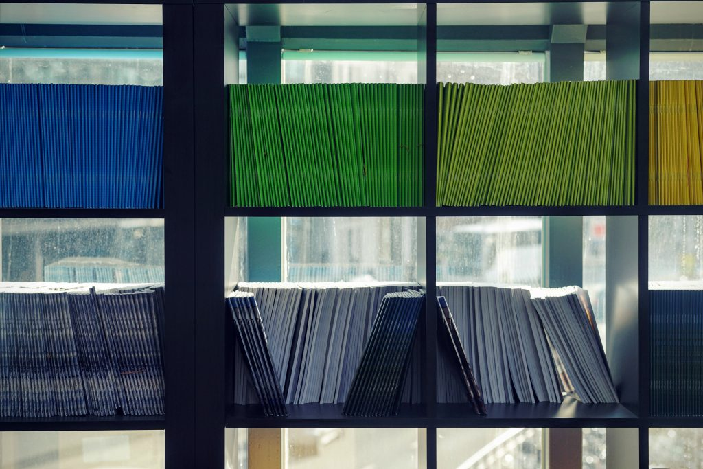 Przechowywanie dokumentów w biurze księgowym